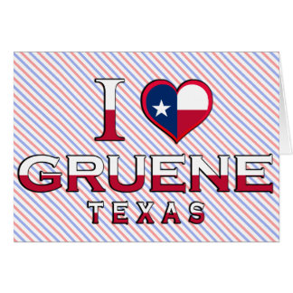 Gruene Texas Greeting Card