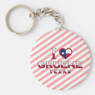 Gruene, Texas Key Chain