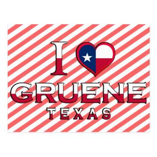 Gruene, Texas Post Card