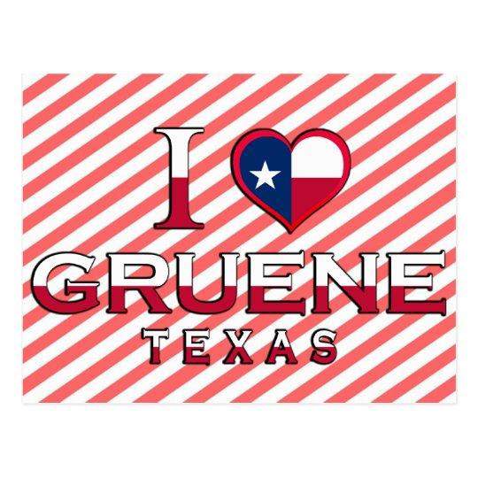 Gruene, Texas Postcard