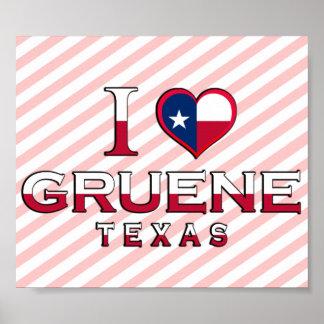 Gruene Texas Print