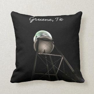 Gruene, Tx at night Throw Pillows