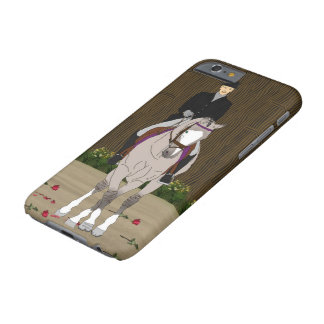 Grulla Equestrian Dressage Horse Barely There iPhone 6 Case