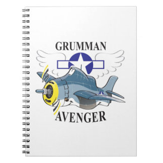 grumman avenger notebook