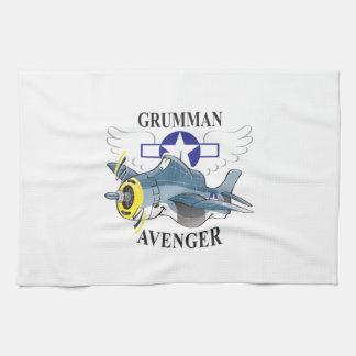 grumman avenger tea towel
