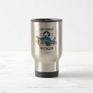 grumman avenger travel mug