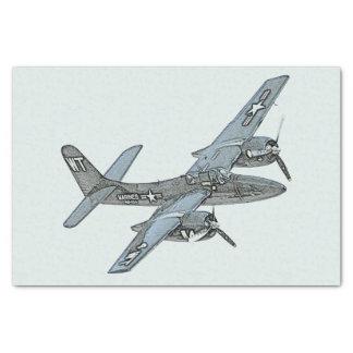 Grumman F7F Tigercat Tissue Paper