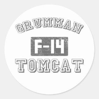 Grumman F-14 Tomcat Round Sticker