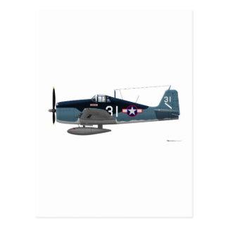 Grumman F-6F Wildcat Post Card