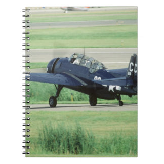 Grumman TBF/TBM Avenger Navy Carrier torpedo Notebook