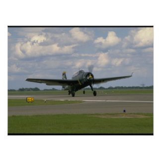 Grumman TBM Avenger, Landing_WWII Planes Poster