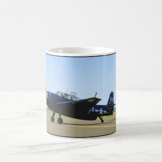 Grumman TBM Avenger, Left Front_WWII Planes Coffee Mug