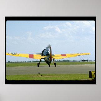Grumman TBM Avenger, Rear_WWII Planes Poster