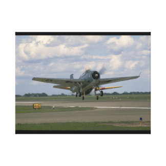 Grumman TBM Avenger, Taking Off_WWII Planes Canvas Print