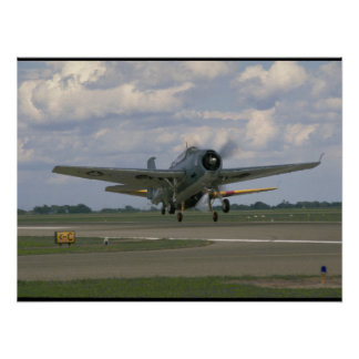 Grumman TBM Avenger, Taking Off_WWII Planes Poster