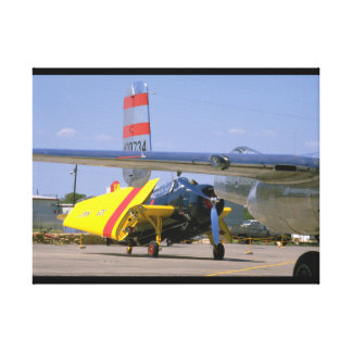 Grumman TBM Avenger, Wings_WWII Planes Canvas Print