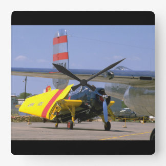 Grumman TBM Avenger, Wings_WWII Planes Square Wall Clock