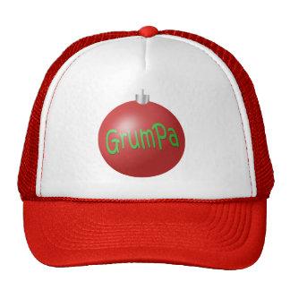 Grumpa Christmas ornament Cap