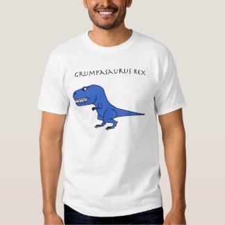 Grumpasaurus Rex Blue T Shirt