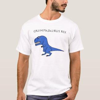 Grumpasaurus Rex Blue T-Shirt