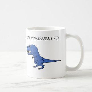 Grumpasaurus Rex Blue Textured Mug