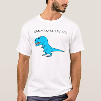 Grumpasaurus Rex Light Blue T-Shirt