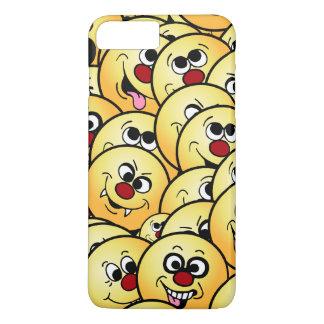 Grumpeys Funny Smiley Faces Set iPhone 7 Plus Case