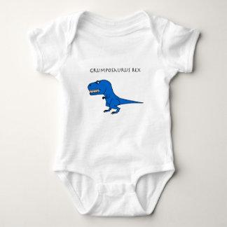 Grumposaurus Rex Blue Baby Bodysuit