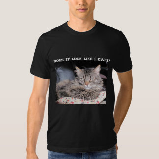 Grumpy Angel don't care Tshirts