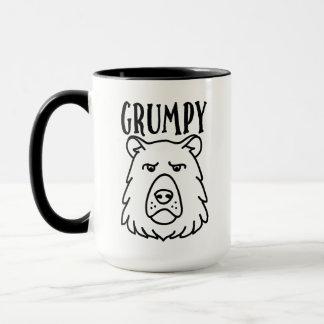 Grumpy Bear Doodle Mug