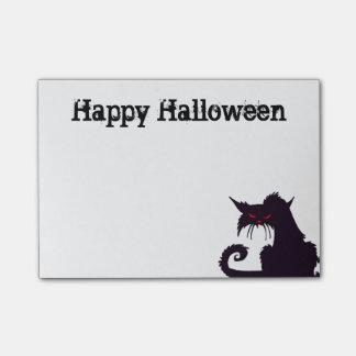 Grumpy Black Cat Post-it® Notes