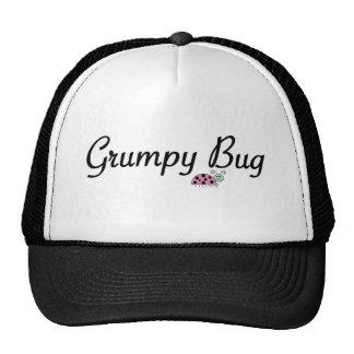 Grumpy bug cap