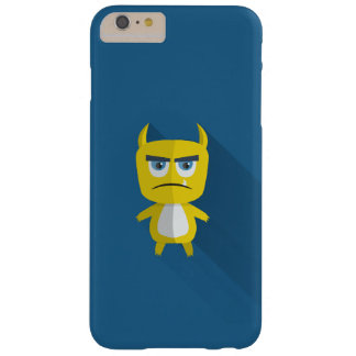 Grumpy but adorable monster on iPhone 7 case