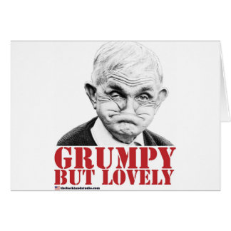 Grumpy But Lovely Greeting Card