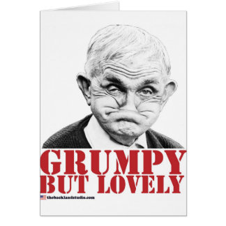 Grumpy But Lovely Greeting Cards