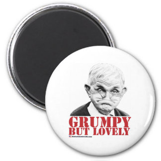 Grumpy But Lovely Magnet