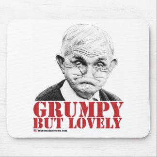 Grumpy But Lovely Mouse Mat