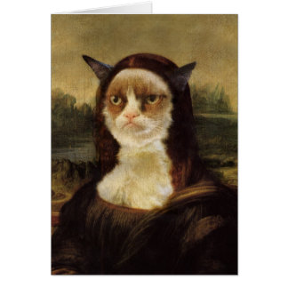 Grumpy Cat Card