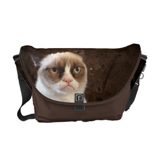 Grumpy Cat Classic Courier Bag