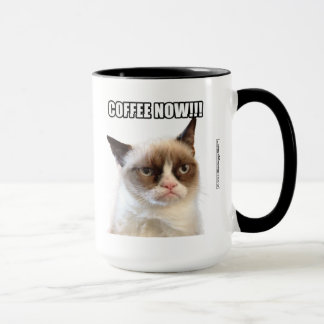 Grumpy Cat™ COFFEE NOW!!! Mug