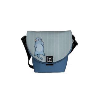 Grumpy Cat George stripes Mini Messenger Bag