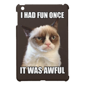 Grumpy Cat - I had fun once iPad Mini Cover