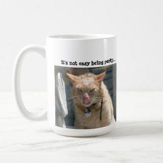 Grumpy Cat it s not easy being perky Mug