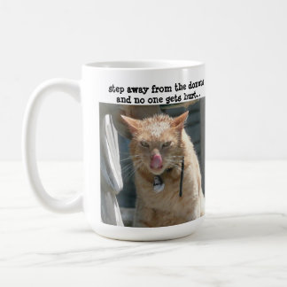 Grumpy Cat, step away from the donuts... Coffee Mug