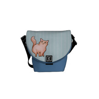 Grumpy Cat Sulky Sue stripes Mini Messenger Bag