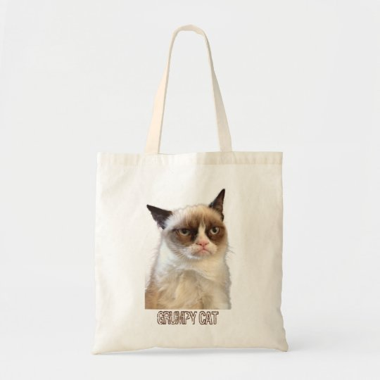 Grumpy Cat Tote - Colour