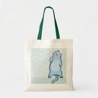 Grumpy Cats Grouchy George hearts Bag
