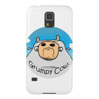 Grumpy Cow Case For Galaxy S5