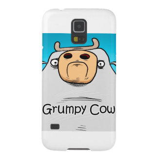 Grumpy Cow Galaxy S5 Covers