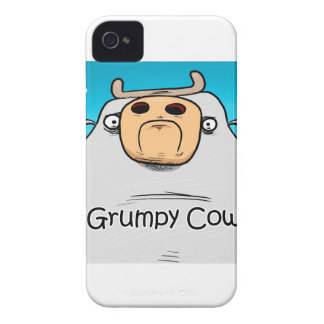 Grumpy Cow iPhone 4 Covers